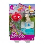 Mini Conjunto Barbie Com Pets GRG75 Mattel