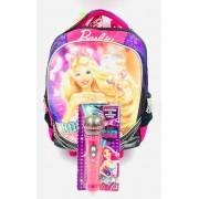 Mochila Com Carrinho Barbie Rock 064342-48 Sestini