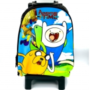 Mochila Com Rodinha Adventure Time 19427 Dmw