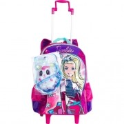 Mochila Com Rodinhas Barbie Aventura Nas Estrelas 64735