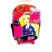 Mochila Com Rodinhas Barbie Girl 06348100 Sestini
