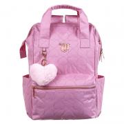 Mochila De Costas G Love Pink Rosa Com Alca De Mao 11890 Dmw