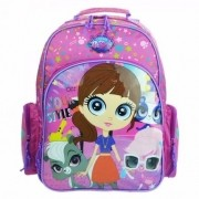 Mochila De Costas Grande Littlest Pet Shop 48757 Dmw