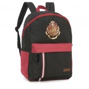 Mochila De Costas Harry Potter G Preta E Vermelha Luxcel