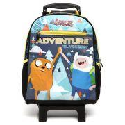 Mochila Escolar Com Rodinhas Adventure Time G 11128 Dmw