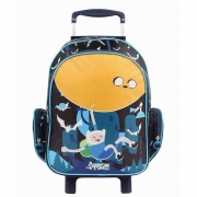 Mochila Escolar Com Rodinhas G Adventure Time 11133 Dmw