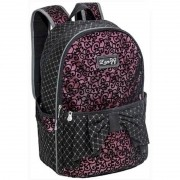 Mochila Lace Preta E Pink 13098 Nt