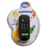 Mordedor Controle Remoto Preto 200-01 Vila Toy