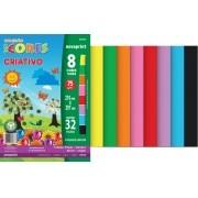 Papel Criativo A4 32 Folhas Coloridas Novaprint