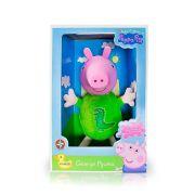 Pelúcia George Pig 34 Cm Peppa Pig Estrela