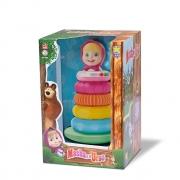Pirâmide De Argolas Masha E O Urso 8119 Diver Toys