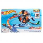 Pista Hot Wheels Action Competição Giratória GJM77 Mattel