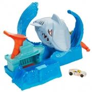 Pista Hot Wheels City Robô Tubarão Multicolorido GJL Mattel
