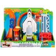 Pista Hot Wheels City Super Rocket Blast Off GTT75 Mattel