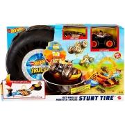 Pista Hot Wheels Monster Trucks Pneus Acrobacia GVK48 Mattel