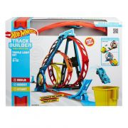 Pista Hot Wheels Track Builder Looping Triplo GLC96 Mattel