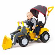 Politractor Passeio Amarelo Com Concha 7652 Poliplac