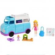 Polly Pocket Glamorosa Van De Campismo FTP74 Mattel