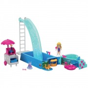 Polly Pocket Piscina Surpresa GFK51 Mattel