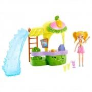 Polly Pocket Quiosque Parque De Abacaxi GFR00 Mattel
