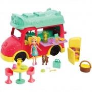 Polly Pocket Smoothies Food Truck 1 Em 1 GDM20 Mattel