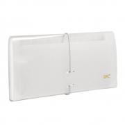 Porta Cheques 12 Divisórias Transparente 6080PPTR Dac
