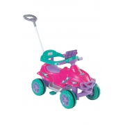 Quadriciclo Quadri Toys Doll Passeio E Pedal 9406 Magic Toys