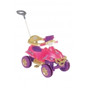 Quadriciclo Quadri Toys Princess Pedal 9404 Magic Toys