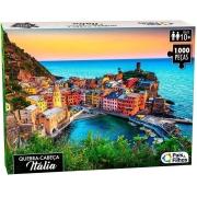 Quebra Cabeça 1000 Peças Itália Premium 0963 Pais E Filhos