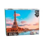 Quebra Cabeça 1000 Peças Torre Eiffel 10775 Pais E Filhos