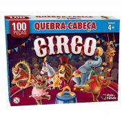 Quebra Cabeça 100 Peças O Circo Premium 2873 Pais E Filhos