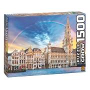 Quebra Cabeça 1500 Peças Bruxelas 3736 Grow