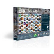 Quebra-Cabeça 2000 Peças Volta Ao Mundo 2521 Toyster
