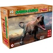 Quebra Cabeça 20 Peças T-Rex Madeira 0911 Pais E Filhos