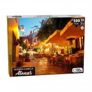 Quebra Cabeça 500 Peças Atenas Premium 10762 Pais E Filhos