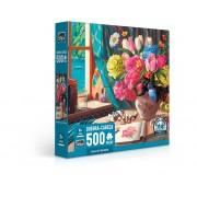 Quebra-Cabeça 500 Peças Casa De Veraneio 2707 Toyster