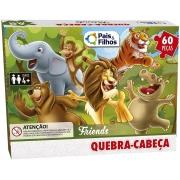 Quebra Cabeça 60 Peças Friends Premium 2971 Pais E Filhos