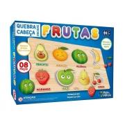 Quebra Cabeça 8 Peças Encaixe Frutas 10777 Pais E Filhos