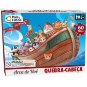 Quebra Cabeça Arca De Noé 60 Pçs Premium 2857 Pais E Filhos
