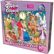 Quebra Cabeca Cinderela 60 Peças 2852.1 Pais E Filhos