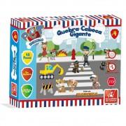 Quebra-Cabeça Gigante Esquadrão Pet 48 Peças Em Madeira Brincadeira De Criança