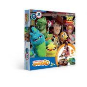 Quebra-Cabeça Grandão 48 Peças Toy Story 4 2627 Toyster