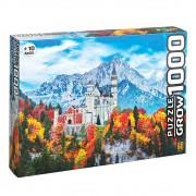 Quebra-Cabeça Puzzle 1000 Peças Castelo De Neuschwanstein 3734 Grow