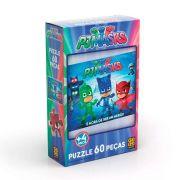 Quebra Cabeça Puzzle 60 Peças PJ Masks 3521 GROW