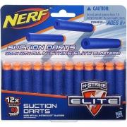 Refil Nerf Elite 12 Dardos Succao A5334 - Hasbro
