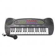 Teclado Infantil Com Microfone DMT5386 Dm Toys