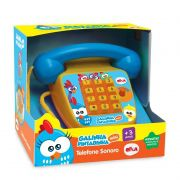 Telefone Sonoro Galinha Pintadinha Mini 1087 Elka