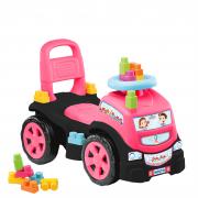 Totoka 3 Em 1 Blocks Truck In Ride On 3 Menina 8013 Cardoso