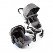 Travel System Epic Lite Duo Carrinho E Bebê Conforto Grey Infanti