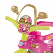 Triciclo Tico Tico Dino Pink 2804 Magic Toys
